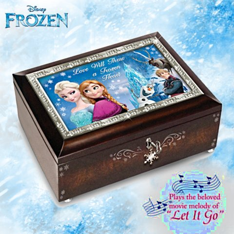 Disney FROZEN Heirloom Music Box: Plays Let It Go
