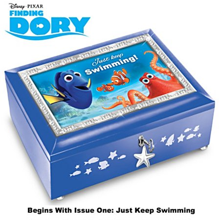 Disney PIXAR - FINDING DORY Heirloom Music Box Collection