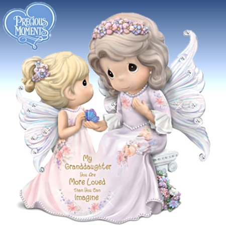 Granddaughter, You're Loved More Than You Can Imagine - Precious Moments Figurine