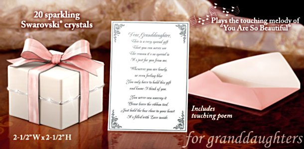 Grandmother's Gift Music Box: Grandmother To Granddaughter Gift