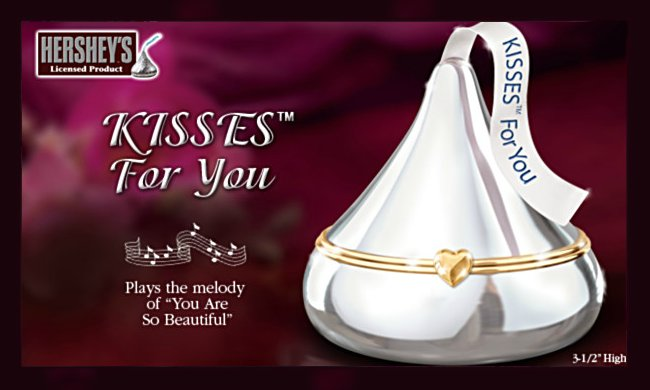 HERSHEY'S KISSES For You Music Box: Mother's Day Gift