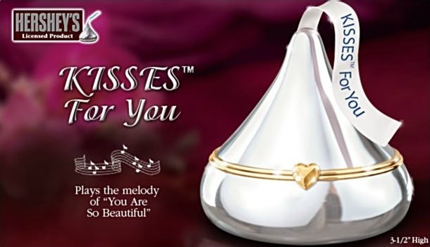 HERSHEY'S KISSES For You Music Box