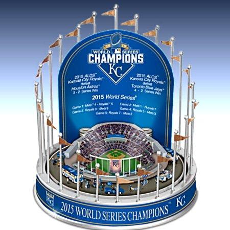 Kansas City Royals 2015 World Series Championship Musical Carousel