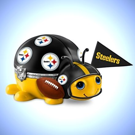 NFL Pittsburgh Steelers Bug Music Box: #1 Fan