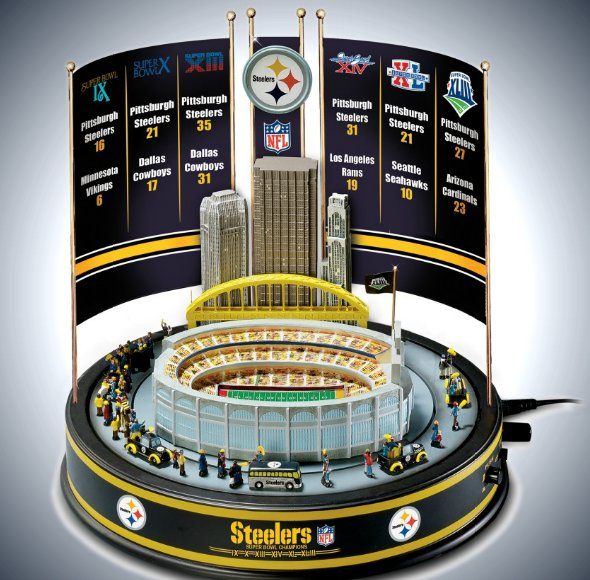 NFL Pittsburgh Steelers Super Bowl Champions Musical Carousel