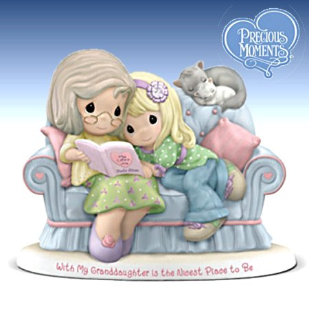 Precious Moments Figurine Collection: With My Granddaughter
