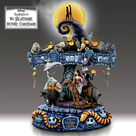 Tim Burton's The Nightmare Before Christmas Musical Carousel: Lights Up