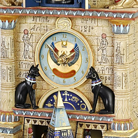 Treasures Of Ancient Egypt - Musical Cuckoo Clock - detail 1