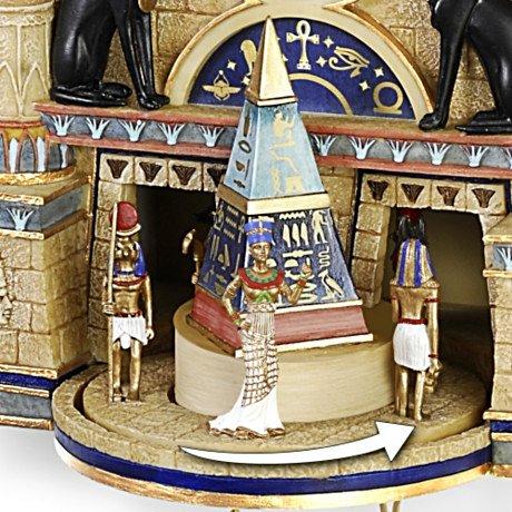 Cuckoo Clock: Treasures Of Ancient Egypt Cuckoo Clock - detail 2