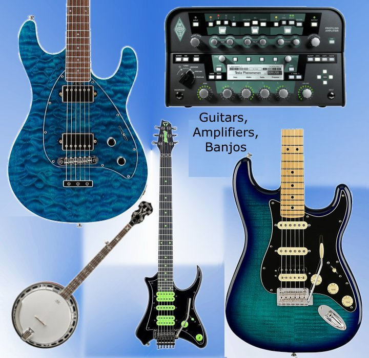 Guitars - Acoustic & Electric Guitars & Guitar Amps