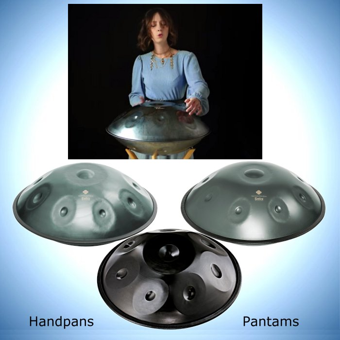 Handpans, Pantams