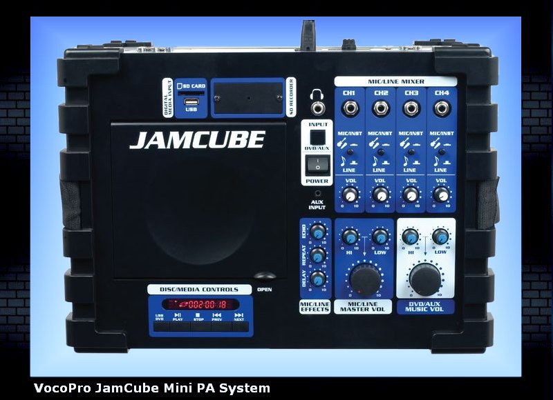 VocoPro JamCube Mini PA System - see all Karaoke Systems