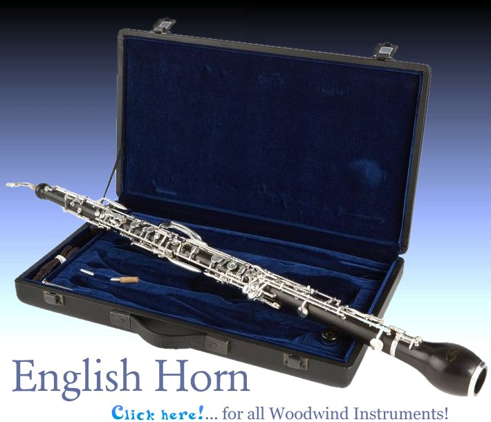 English Horn - Woodwind Instruments