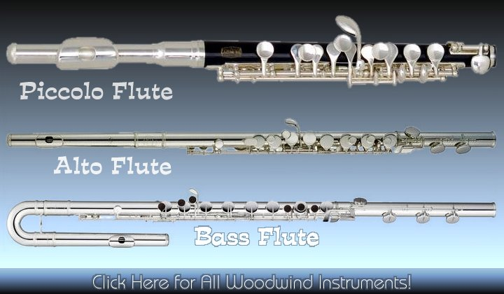 Flutes, musical instruments
