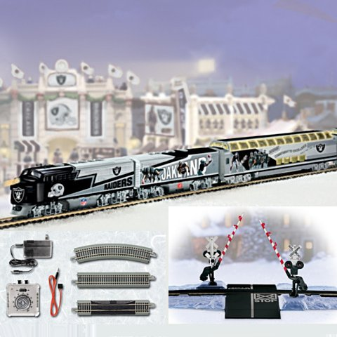 Oakland Raiders Express Train Gift Set - Details