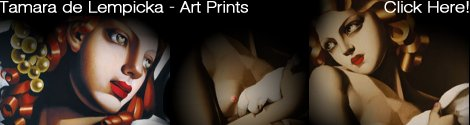 Tamara de Lempicka art prints